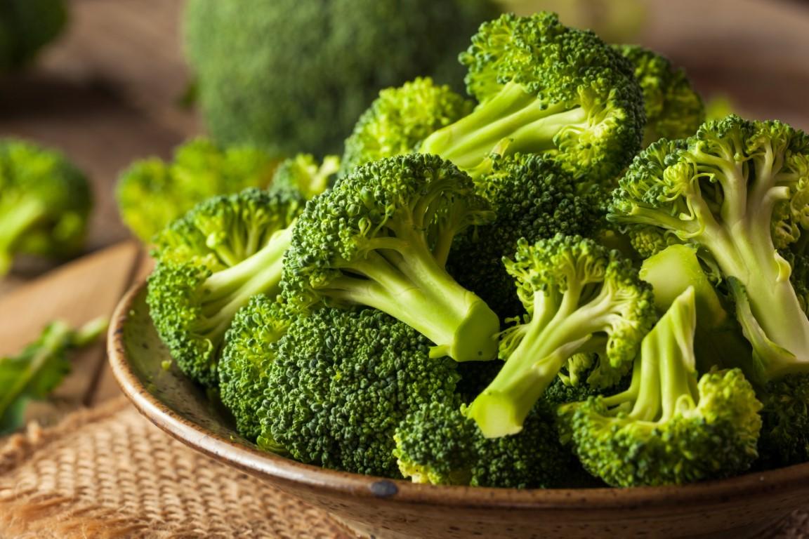 le brocolis contient beaucoup de fibre