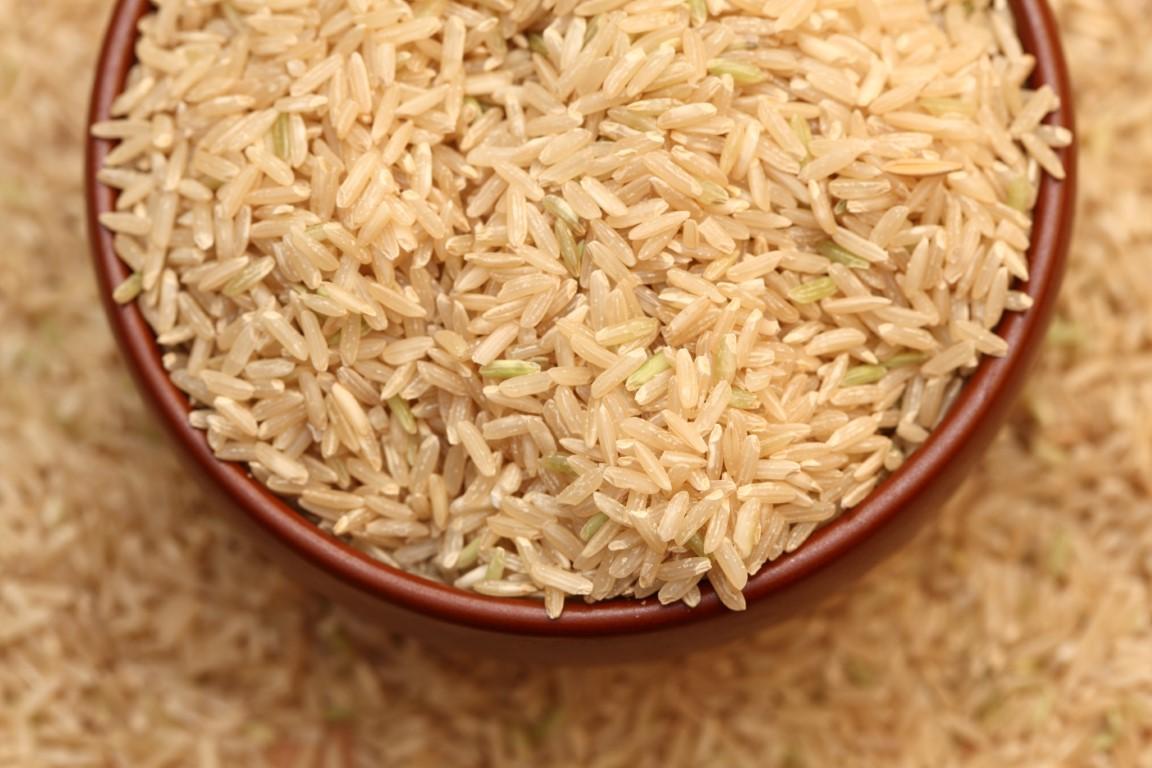 riz complet riche en fibre