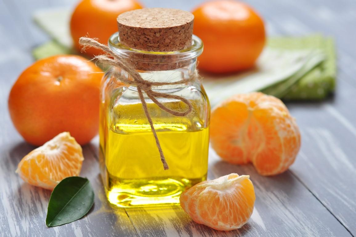 mandarine en huile essentielle