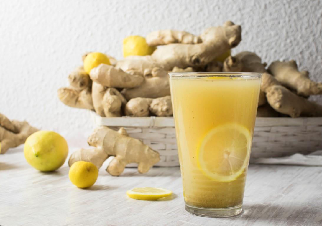 boisson minceur et détox à base de gingembre