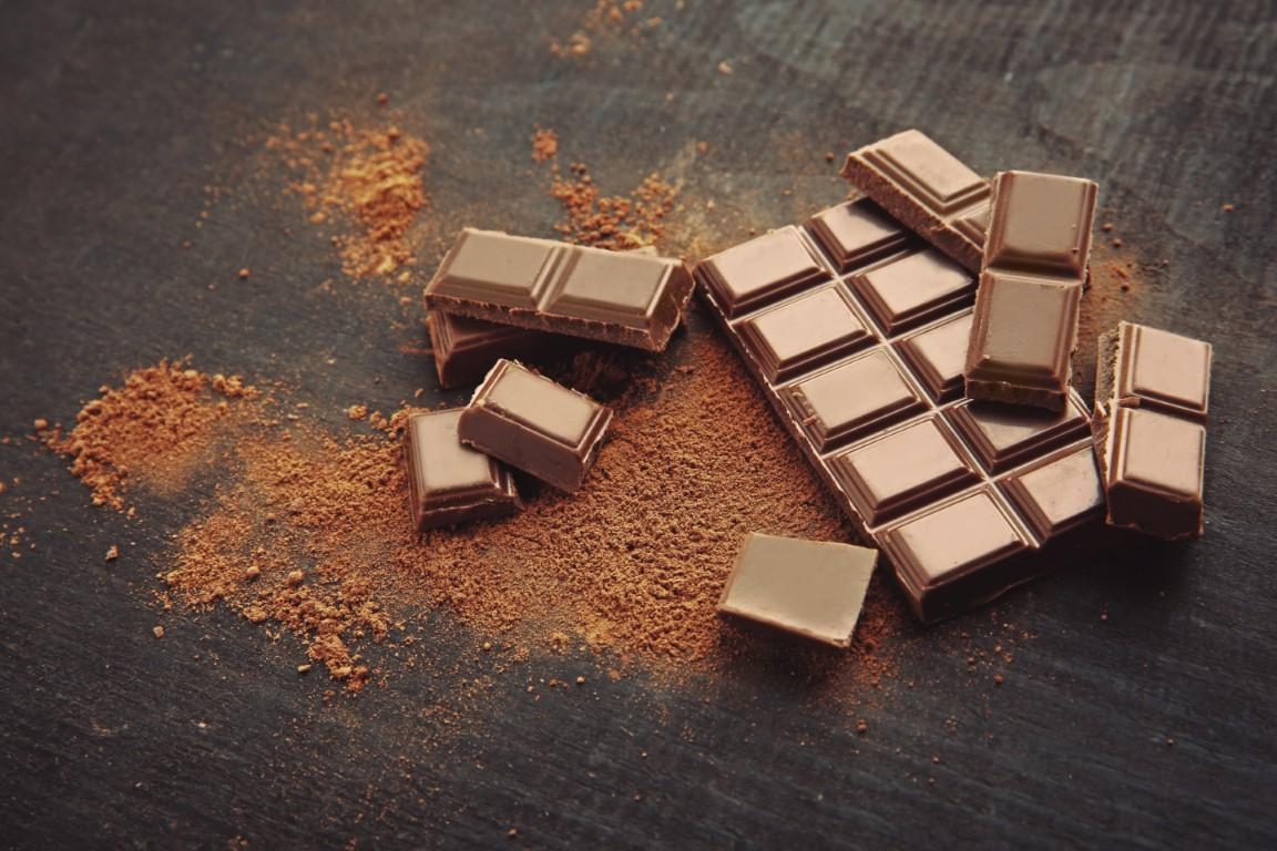 chocolat noir et cacao