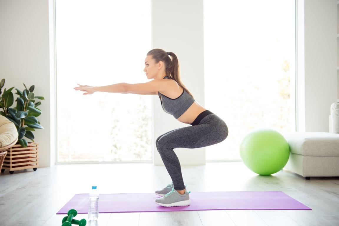 les squats pour perdre des fesses