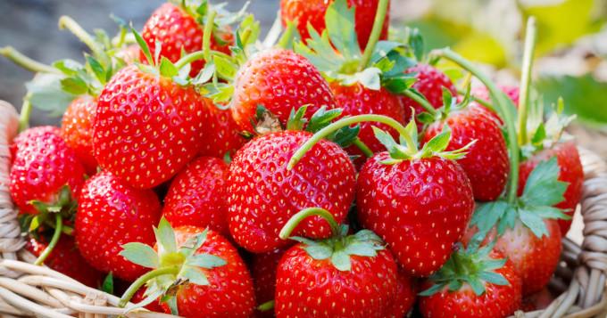 fraise fruits minceur