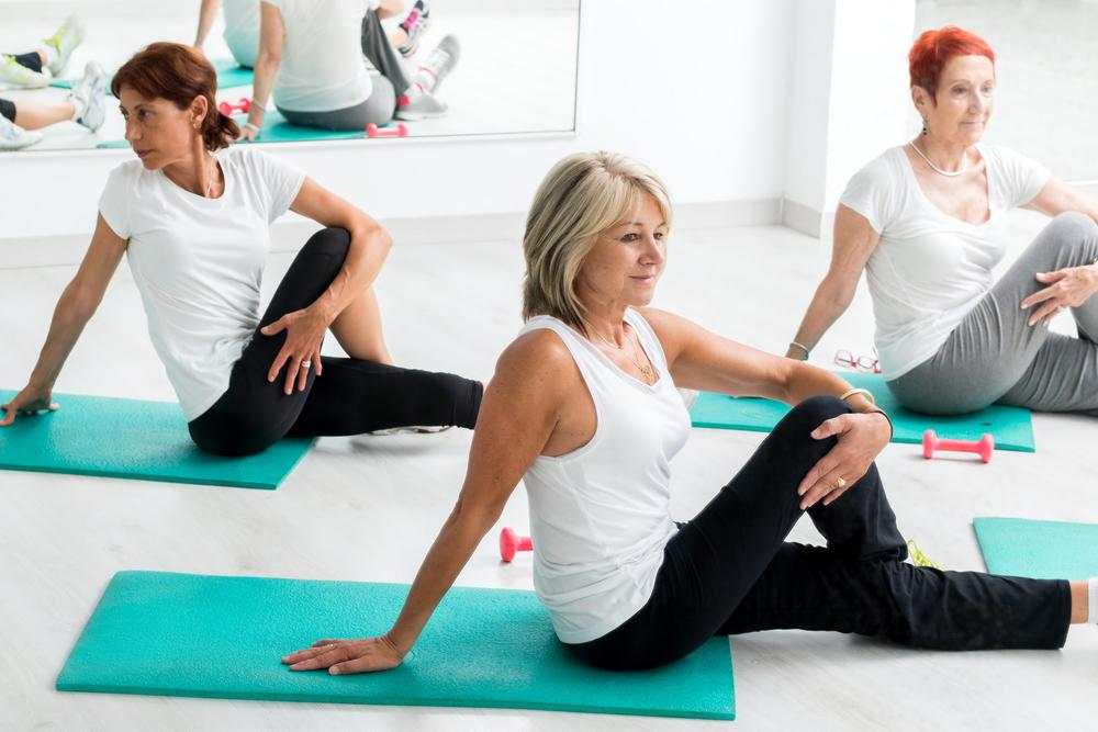 fitness pour les femmes de 60 ans